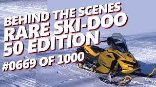 1. Behind the Scenes: 2009 Ski-Doo MXZ 50 Edition 50th Anniversary Walk Around Specifications