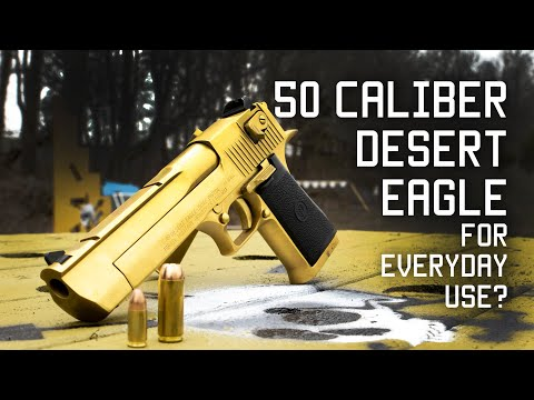 50 Caliber Desert Eagle for everyday use? | Special Forces review | Tactical Rifleman