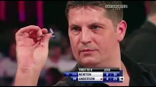 Las Vegas Dessert Classic 2009 - Second Round - Wes Newton vs Gary Anderson