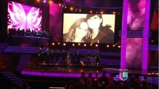 JENNI RIVERA - Homenaje 2013 Premio Lo Nuestro - HD Video.