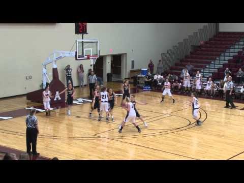 Alma College Women's Basketball vs Spring Arbor University - December 6, 2011