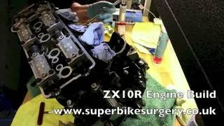 5. ZX10R Engine Build