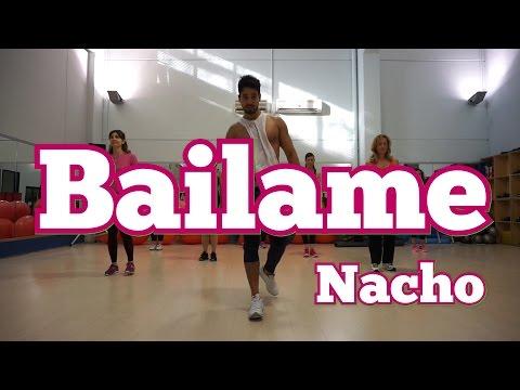 Bailame - Nacho (Letra) Version Cumbia GLM Super Kumbia Zumba