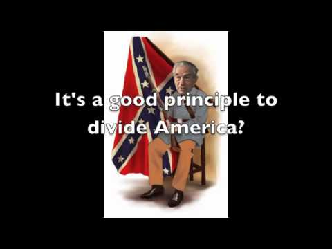neo Confederate - Ron Paul is trying to resurrect old confederate ideas.