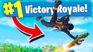 EPIC ROCKET RIDE DANCING In Fortnite: Battle Royale