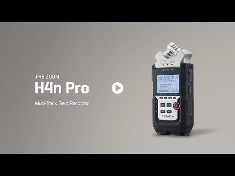 Video - Zoom H4N Pro Handy Digital 4-Track Recorder | H4NP
