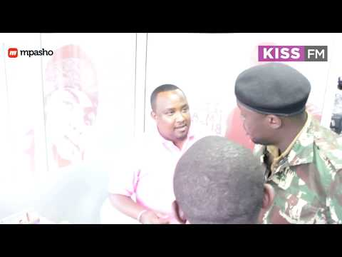 manager - Redsan and his manager Jaffar were the surprise guests on The Morning Kiss #TMK Since they had a recent brush-up with the authorities, The Kiss 100 Crew decided to play a prank on them and...