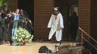 Download Youtube: Teen Paralyzed In Shooting Surprises Classmates & Walks Graduation