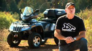 8. 2011 Arctic Cat TRV 700i Test Ride