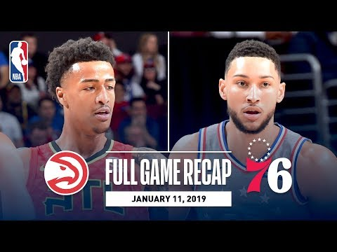 Video: Full Game Recap: Hawks vs 76ers | Collins and Huerter Combine For 54 Points