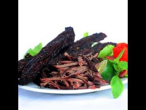 Thịt Trâu Gác Bếp Sa Pa - Nồng Nàn Mùi Hương Tây Bắc Trong Từng Thớ Thịt