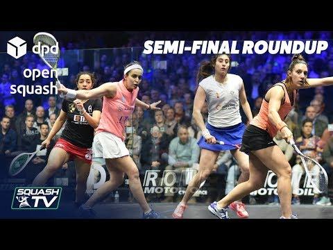 Squash: DPD Open 2019 - Women's Semi-Final Roundup