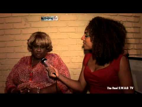 Comedian, Thea Vidale calls out Chris Brown, Paris Hilton and Black men - The Real S.W.A.G TV