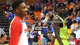 Derrick Jones vs. Malik Newman @ Marshall County Hoopfest