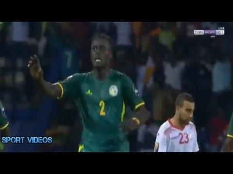 أهداف السنغال وتونس 2-0