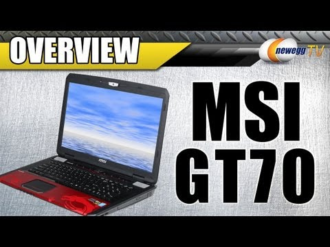 MSI GT70 Dragon Edition Gaming Laptop Overview - Newegg TV