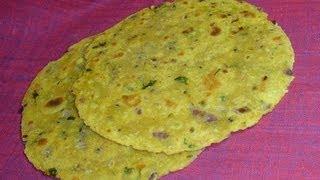 How to make Missi Roti aka Daal Roti - Indian Recipes