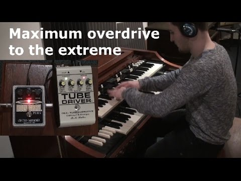Hammond Organ Crazy Overdrive Sounds Extreme - SjoerdHammond