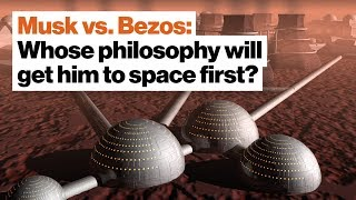 Musk vs. Bezos: Whose philosophy will get him to space first? | Peter Ward by Big Think
