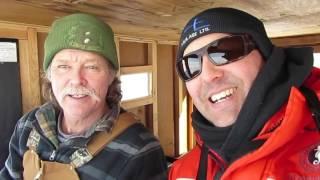 Lake Simcoe ICEFISHING Ice Report Jan.,8,2017 Virginia Beach, Port Bolster.