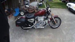 4. 2000 Harley Davidson Sportster XL1200 Ride and Walkaround