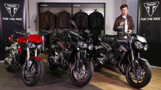 7. The All-New Triumph Street Triple Range - Features and Benefits