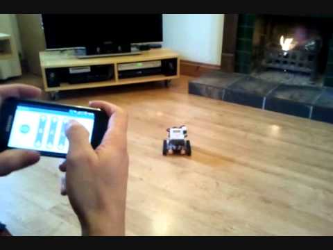 Video of NXT Remote (LEGO MINDSTORMS)