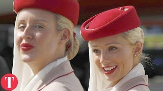 Video 10 STRANGE Requirements To Work As A Flight Attendant MP3, 3GP, MP4, WEBM, AVI, FLV Oktober 2018