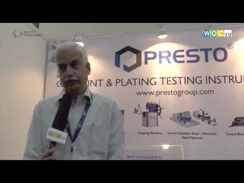 Presto at Surface & Coating Expo 2016