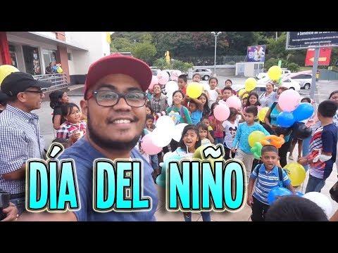Celebrando el dia del niño |Aldea La Cuesta, Tegucigalpa - Honduras
