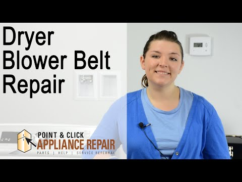 Dryer Repair: Blower Belt Replacement (Part Number 8544742) – Maytag Gas Dryer
