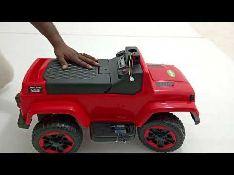 Unboxing Baybee Baby Toy Car Rechargeable Battery Operated Ride on car