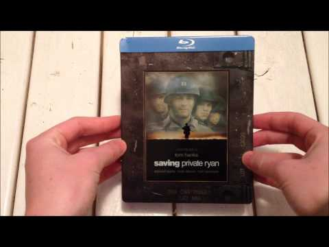 Saving Private Ryan Steelbook Blu-Ray Unboxing HD 1080p