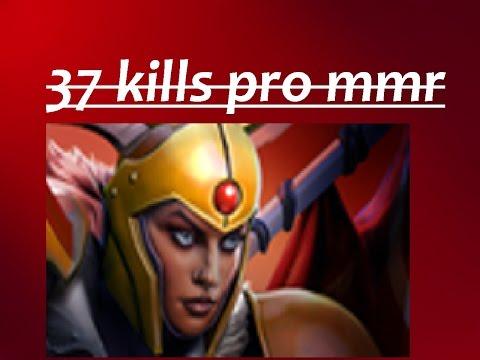 Dota 2 Legion 37 KILLS RANKED MMR! 37 KILLS! 800 DMG!