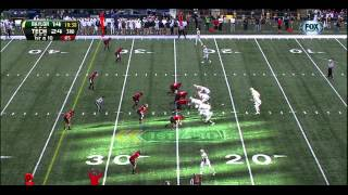 Lache Seastrunk vs Texas Tech (2012)