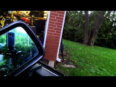 Mercedes R129 SL Class..Side mirror removal and repair