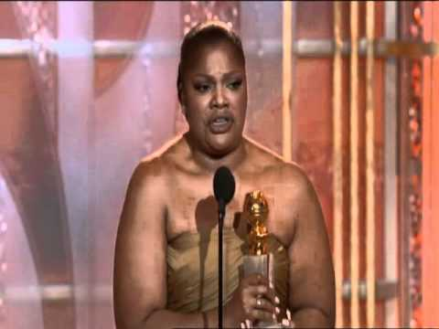 Monique Wins Best Supporting Actress Motion Picture - Golden Globes 2010