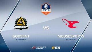 GODSENT vs mouz, game 1