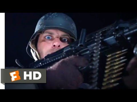 Company of Heroes (2013) - Train Sneak Attack Scene (5/10) | Movieclips
