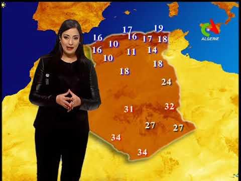 La météo du 24-11-2018 Canal Algérie