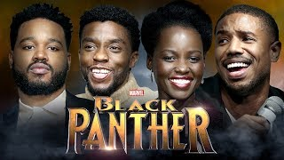 Video INTERVIEW BLACK PANTHER w/ Chadwick Boseman, Lupita Nyong'o, Michael B. Jordan & Ryan Coogler MP3, 3GP, MP4, WEBM, AVI, FLV September 2018