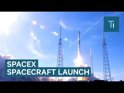 Watch SpaceX Launch A Used Spacecraft With A Used Rocket For The First Time_Űrhajó videók