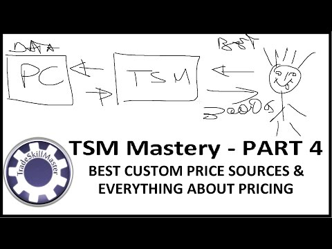 TradeSkillMaster Custom Price Sources, Best String, Explanation of Pricing - TSM Mastery - Part 4
