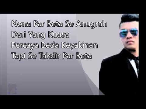Download Lagu Vicky Salamor - Cinta Beda Agama (Lirik Video) Lagu Ambon Hits Music Video