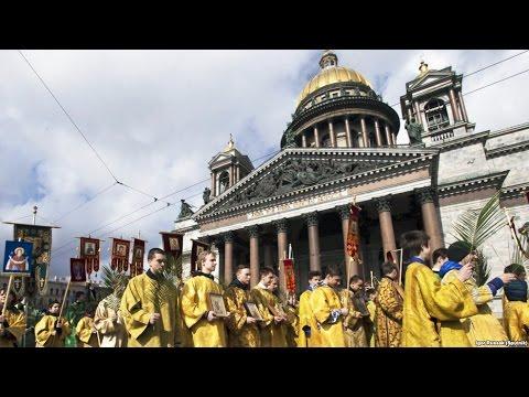 Спор вокруг Исаакиевского собора в Петербурге (видео)