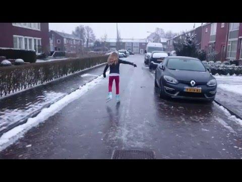 Straatsen Winter 2016 in Holland