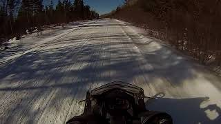 9. Maine Snowmobiling RT 66