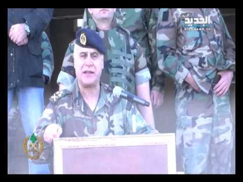 قائد الجيش يزور خطوط المواجهة عند جرود عرسال