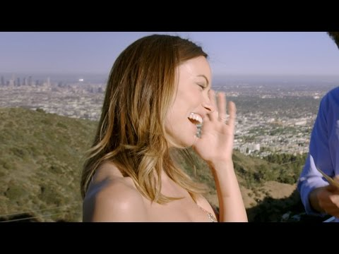 Olivia Wilde & Jason Sudeikis: $20 bill ripped, swallowed and reattached   David Blaine