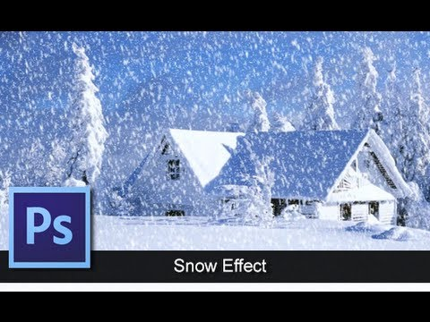 Adobe Photoshop CS6 – Photoshop CS6 – Snow Effect Tutorial [ Let It Snow ]
